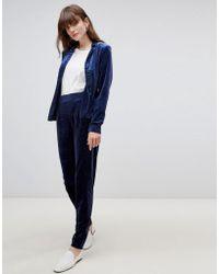 B.Young - Velvet Suit Trousers - Lyst