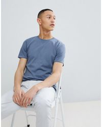 SELECTED - Heavy Cotton T-shirt - Lyst