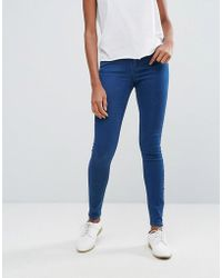 Pieces - Betty Skinny Jeans - Lyst
