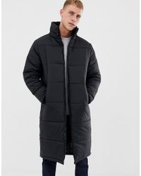 Another Influence - Longline Quilted Jacket - Lyst