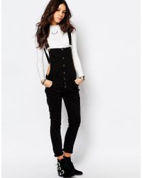 Pimkie - Cutout Detail Dungarees - Lyst