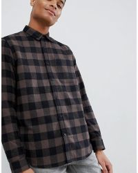 New Look - Checked Shirt - Lyst