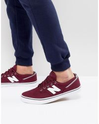 New Balance - Numeric Am331 Plimsolls In Red Am331brg - Lyst