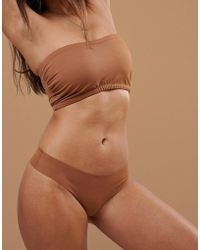 Nubian Skin - Naked Collection Nude Perfect Thong In Medium - Lyst