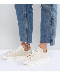 Lyst adidas Originals Originals tubular sombra formadores en blanco