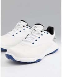 PUMA - Golf Grip Fushion Spikeless Trainers In White 18942501 - Lyst