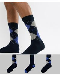 Pringle of Scotland - Waverley Socks 3 Pack - Lyst