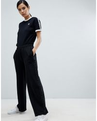 Fred Perry - Wide Leg Tracksuit Pant - Lyst