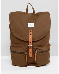 Sandqvist   Roald Backpack In Green   Lyst