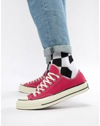Converse - Chuck Taylor All Star '70 Ox Trainers In Pink 161445c - Lyst