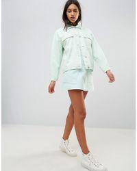WÅVEN - Ina Pocketed A-line Denim Skirt - Lyst