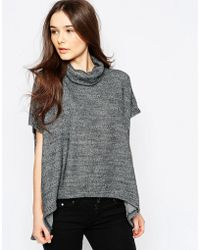 Wal-G - Knitted Top With Roll Neck - Lyst
