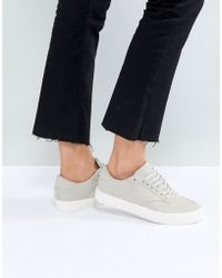 ASOS - Asos Dolcetto Lace Up Sneakers - Lyst
