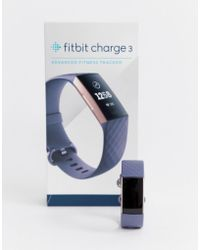 Fitbit - Charge 3 Smart Watch In Grey - Lyst