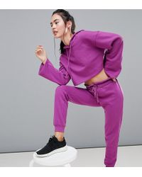 South Beach - Paperbag Joggers In Purple - Lyst