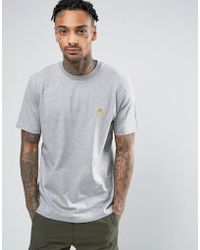 Carhartt WIP - Chase T-shirt In Grey - Lyst
