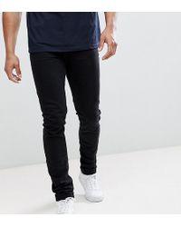 ASOS - Tall Skinny Jeans In Black - Lyst