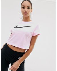 9867aec11 Nike Pink in Pink - Lyst