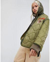 Maharishi - Upcycled Military Liner Jacket - Lyst