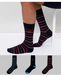 Pringle of Scotland - Socks In 3 Pack Gift Set - Lyst