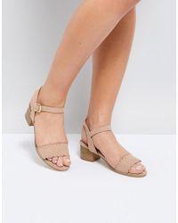 Miss Kg - Rosie Heeled Sandals - Lyst