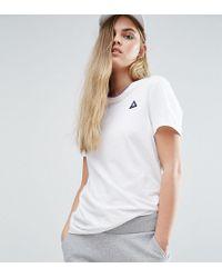 Le Coq Sportif - Boyfriend Tricolores Ringer T-shirt - Lyst