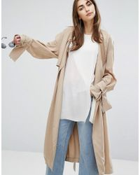 Cheap Monday - Soft Trench Coat - Lyst