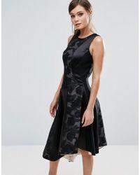 Coast - Wendal Asymetric Panel Dress - Lyst