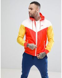 Nike - Windrunner Jacket In Orange 727324-891 - Lyst