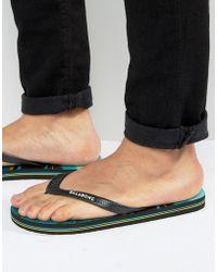 Billabong - Method Flip Flops - Lyst