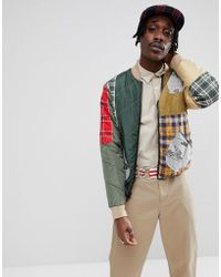 BBCICECREAM - Patchwork Zip Through Jacket - Lyst