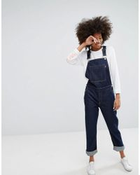 WÅVEN - Straight Leg Overall With Embroidery - Lyst