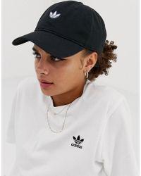 adidas Originals - Samstag Dad Cap In Black - Lyst