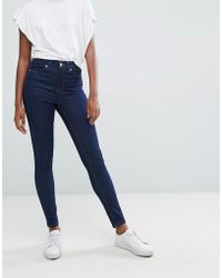 Oasis - Mid Rise Skinny Jeans - Lyst