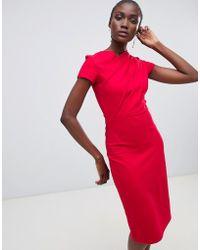 Finery London - Miller Twist Pencil Dress - Lyst