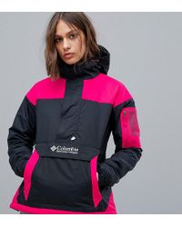 67090620661d The North Face. Mountain Insulated Snap Pullover Jacket.  160. Nordstrom ·  Columbia - Challenger Pullover In Black pink - Lyst