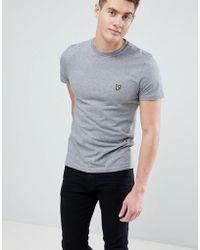 Lyle & Scott - Logo T-shirt In Grey Marl - Lyst