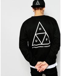 Huf - Triple Triangle Sweatshirt - Lyst