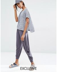 Stitch & Pieces - Titch & Pieces Relaxed Lounge Cropped Jogger - Lyst