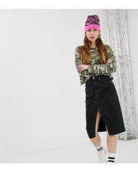 4dd6435e1815 Women's Bershka Skirts Online Sale - Lyst