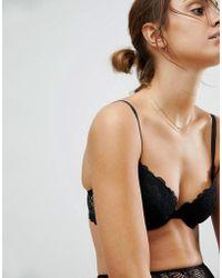 ASOS DESIGN - Rita Basic Lace Mix & Match Plunge Bra - Lyst