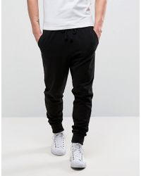 Another Influence - Basic Black Joggers - Lyst