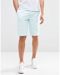 Minimum - Chino Shorts In Aqua - Lyst
