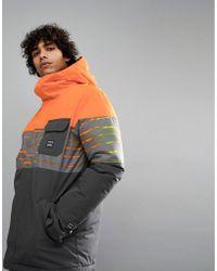 Billabong - Tribong Snow Jacket In Orange - Lyst