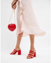 Miss Selfridge - Tube Strappy Sandal - Lyst