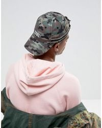 Cayler & Sons - Baseball Cap In Camo With Embroidered Logo - Lyst