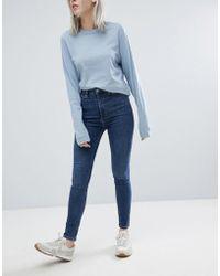 Weekday - Body High Waist Super Stretch Skinny Jeans - Lyst