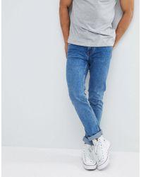 Mango - Man Slim Jeans In Blue - Lyst