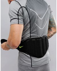 Nike - Structured Training Belt In Black El.02-023 - Lyst