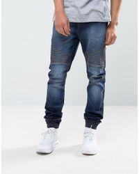 Loyalty & Faith - Loyalty And Faith Garrett Jogger Jeans In Indigo Wash - Lyst